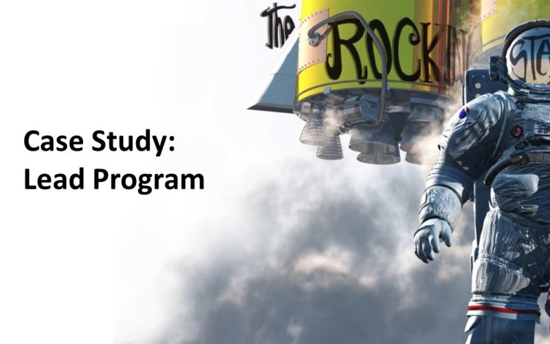 Case Study – Lead Program